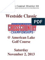 Westside Cross Country Classic