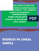 A.4 Regresion Lineal Simple Expos