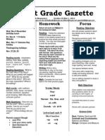 oct 29 newsletter