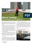 Membrane Roof Leak Investigation