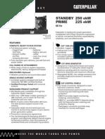 Grupos Electronicos Diesel Cat n3306 225ekw Prime