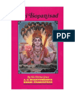 Sri Isopanisad Original 1969 Edition