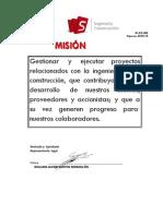 DI(GE)002 Misión