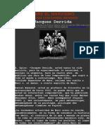 (1) DERRIDA_sobre el marxismo. diálogo con Bensaid 251013