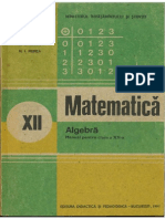 Cls 12 Manual Algebra XII 1991
