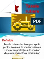 Taxele rutiere