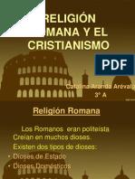 Religion Romana y Cristianismo
