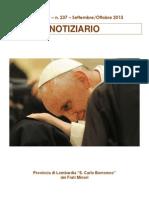Notiziario 237 - Frati Minori di Lombardia