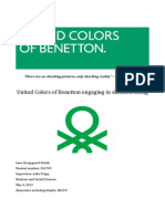 Benetton Angaging in Shockvertising