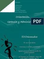 Orientación Gerencia y Administración