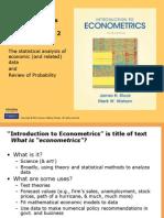 Chapters 1 & 2-final.ppt Econmetrics- Smith/Watson