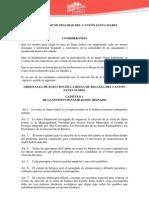 Ordenanza Eleccion Reina 26-11-08