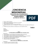 Libro Conciencia Misionera II Robert