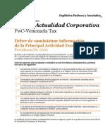 Boletín Actualidad Corporativa No. 19