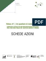 CANTIERE VERDE | Progetto Rebus | SCHEDE AZIONI