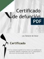 Certificado Admin