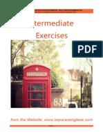 English Intermediate exercises