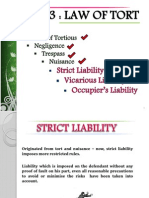 MODULE 5 - LAW OF TORT (VICARIOUS, STRICT & OCCUPIER).ppt