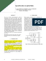 Using Turbocodes on Optical Links - Unknown