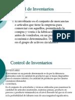 Control de Inventarios