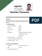CV Cesar Augusto Mechan