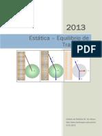 U03 Estática - Equilibrio de Traslación-1