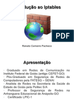 Estrutura Do Iptables
