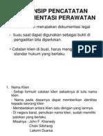 PRINSIP_PENCATATAN_DOKUMENTASI_PERAWATAN.ppt