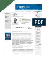 Abogados - Ricardo Silva Romero - Jurisprudencia en Colombia EL TIEMPO - Opinión