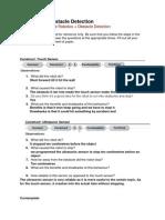 worksheet 5 obstacle detection