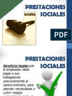PRESTACIONES SOCIALES PRESENTACION