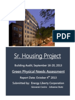 Green Physical Needs Assessment Document