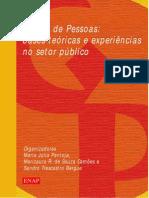 Gestão de Pessoas nos órgãos públicos