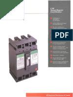 Det-023 Ted Circuit Breaker Molded Case Ge