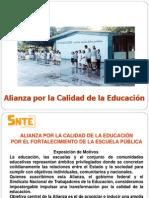 Alianza Por La Calidad de La Educacion