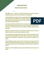 Sample of Report