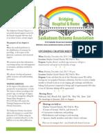 Saskatoon Ostomy Association Bulletin for October, 2013