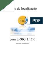 Mapa de localização com gvSIG