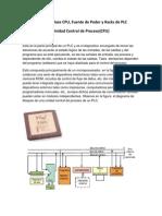 CPU, Fuente de Poder y Racks de PLC