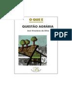 O Que e Questao Agraria_José Graziano da Silva