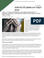 Chile se ubica entre los 50 países con mayor riesgo de alzheimer _ Tendencias _ LA TERCERA