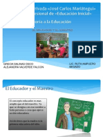 El Educador y El Maestro (1)