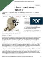 Región Metropolitana concentra mayor mortalidad por alzheimer _ Tendencias _ LA TERCERA