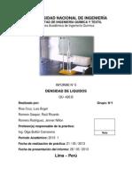 Informe N5 Lab. Fisicoquimica