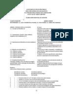 Porgrama de filosofía, 2012