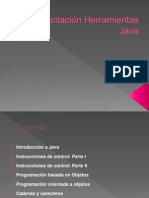 Capacitación Herramientas Java Parte 1