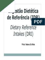 133556_Aula 2 - DRIs e Biodisponibilidade