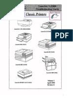 Hp Laserjet Lj200 6 Modelos de Impresoras Guia de Soluciones