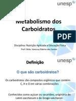 aula carboidratos e exercício11.04.12