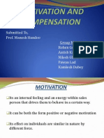 motivation and compensation in sales